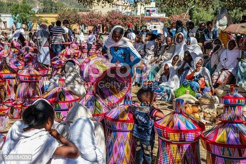 istock Basket market in Aksum, Ethiopia 938484030