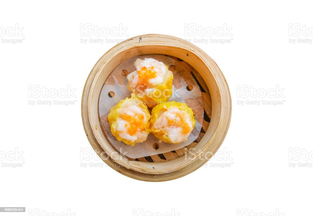 basket of dimsum a traditional Chinese food stock photo