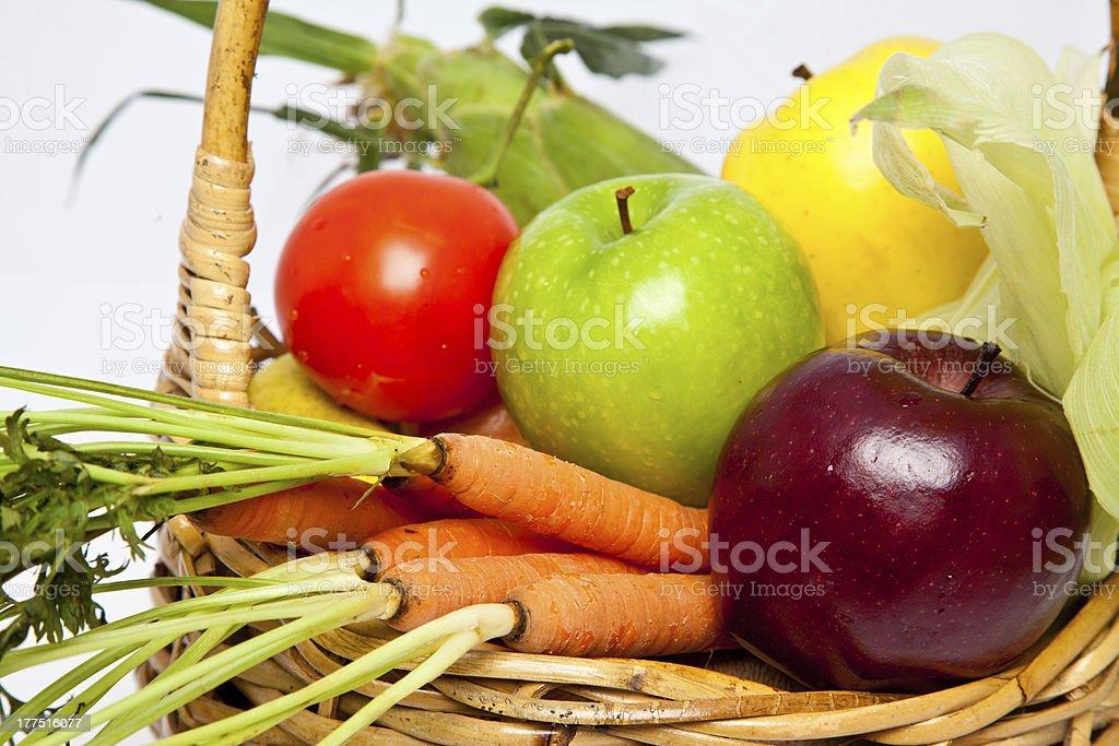 Basket of Health royalty-free stock photo
