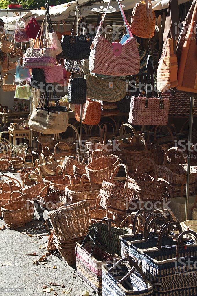 Basket shop royalty-free stock photo