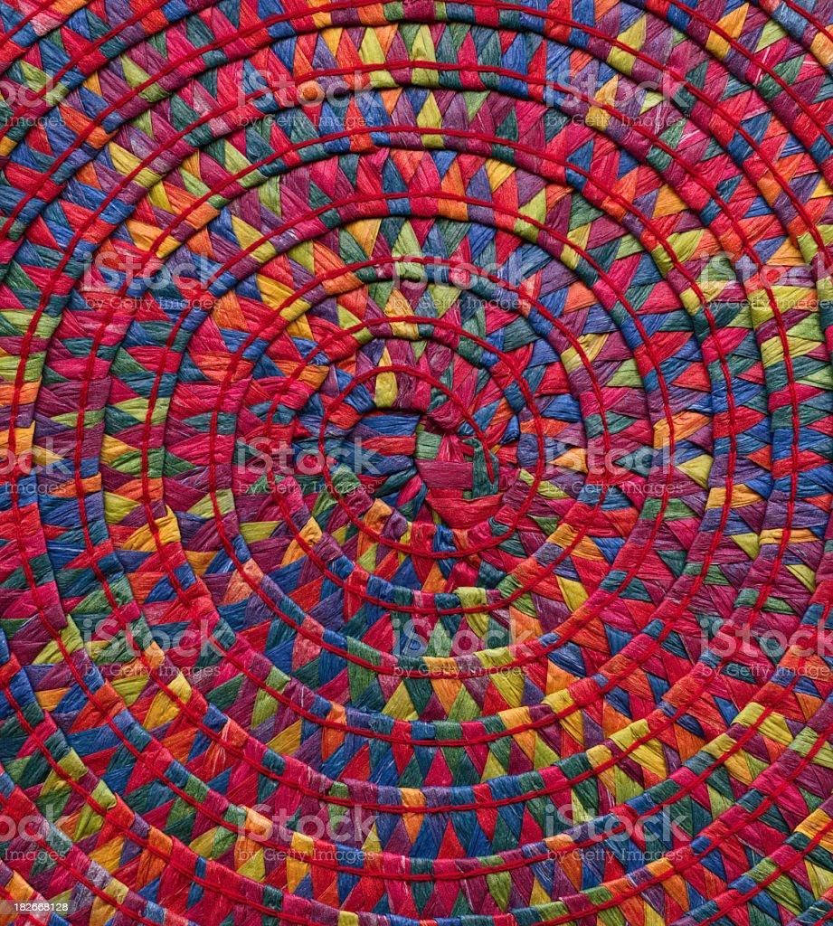 basket weave detail stock photo