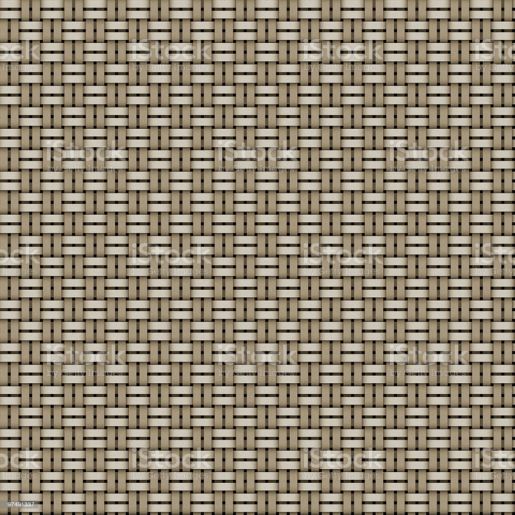 Basket weave royalty-free stock photo