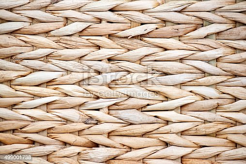 Basket Weaving Reed and Cane Pattern Background