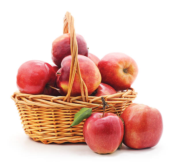 Best Basket Of Apples Stock Photos, Pictures & Royalty ...