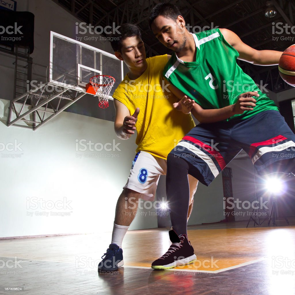 Basketbal player royalty-free stock photo
