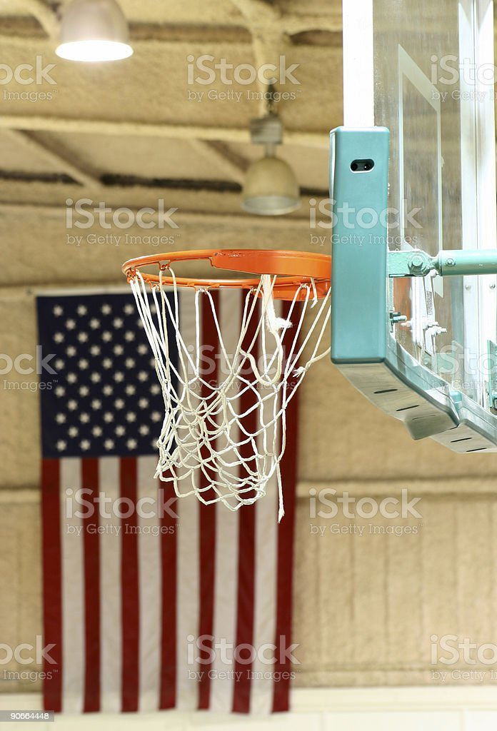 Basketball, American-Style royalty-free stock photo