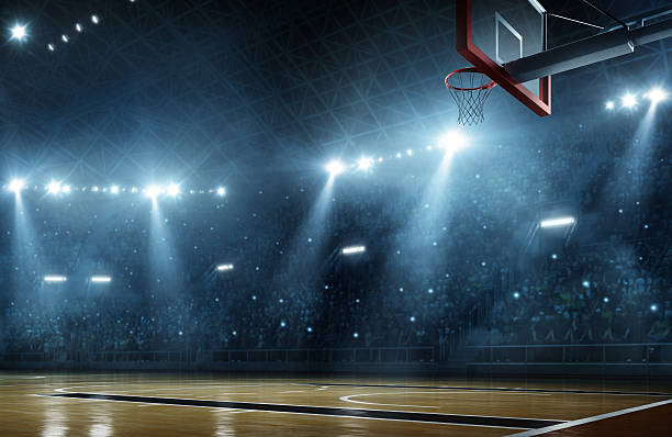 salle de basket - basketball photos et images de collection
