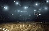 istock Basketball arena 467743832