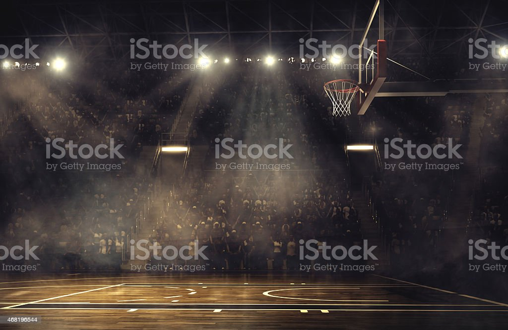 Basketball arena - foto de stock