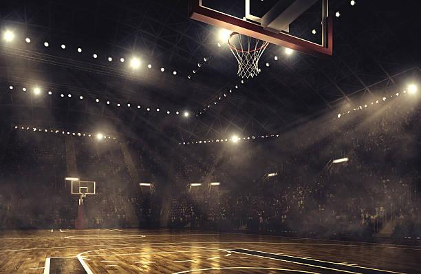バスケットボールアリーナ - バスケットボール ストックフォトと画像