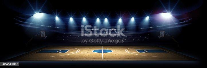 istock Basketball arena 484541018