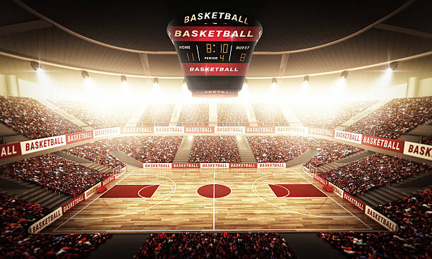 basketball arena - scoring stock photos and pictures