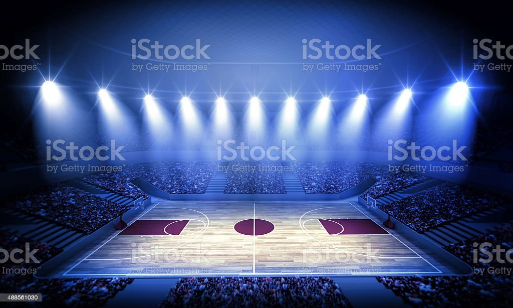 Basketball arena – Foto