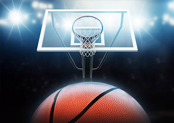 basketball arena - basketball hoop stock pictures, royalty-free photos & images