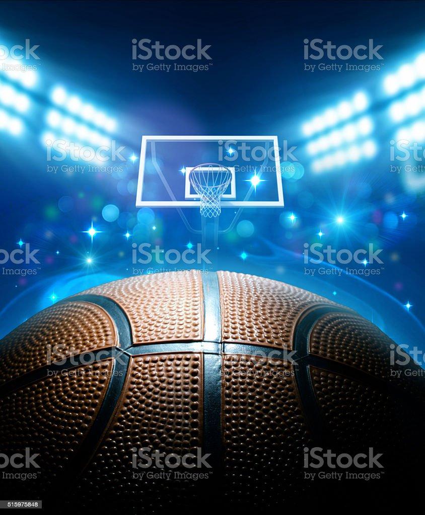Basketball Arena stok fotoğrafı