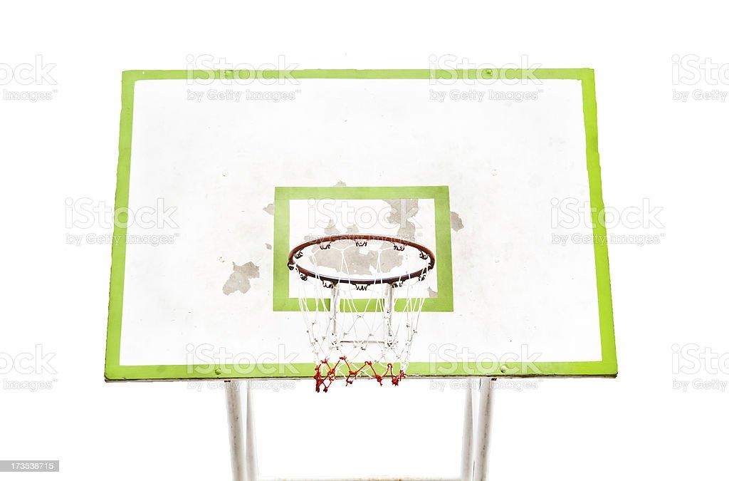 Basketball backboard royalty-free stock photo
