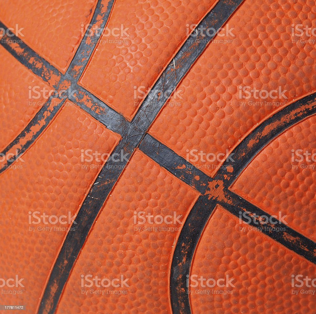 Basketball background in square composition