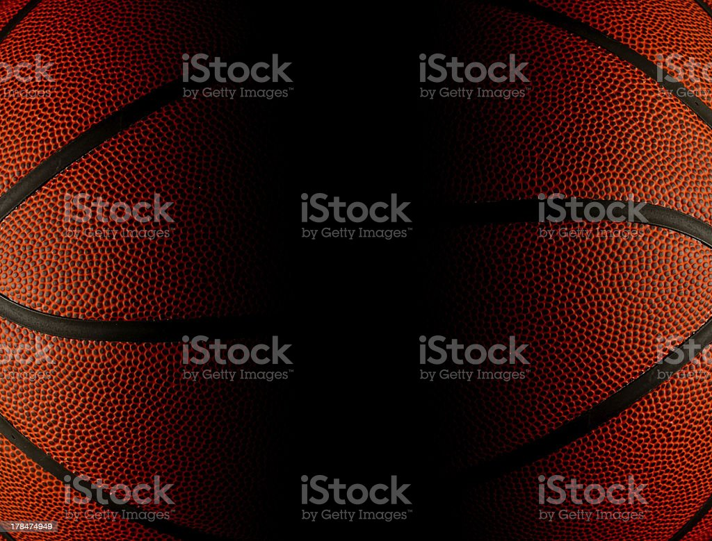 Basketball background with black copy space