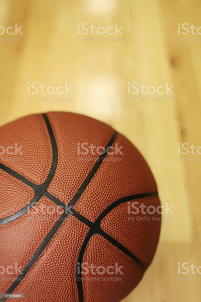 Basketball background. Makes for a great announcement, just add type....