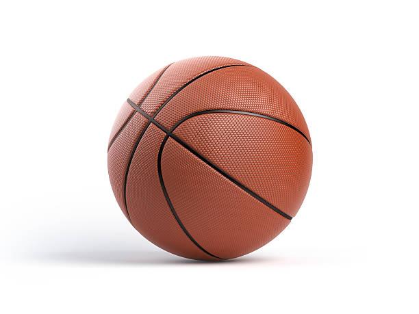 Basketball Ball aislado sobre fondo blanco - foto de stock