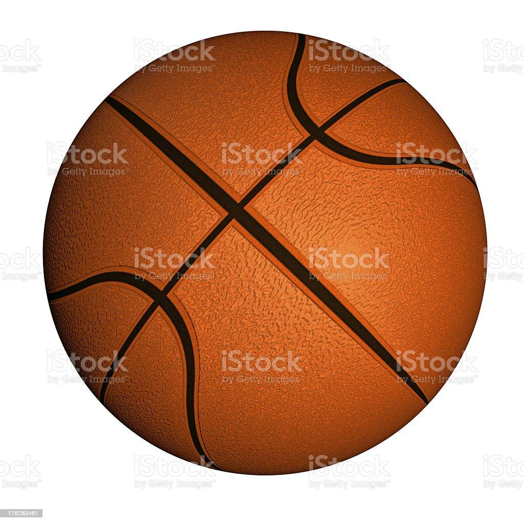 Basketball ball stock photo