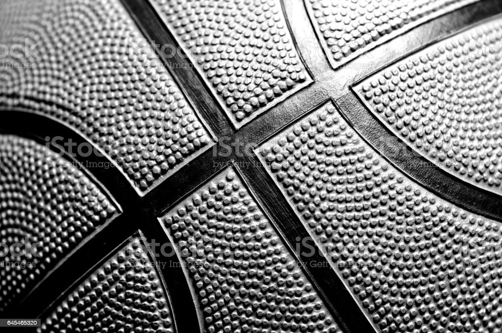 Basketball ball stock photo