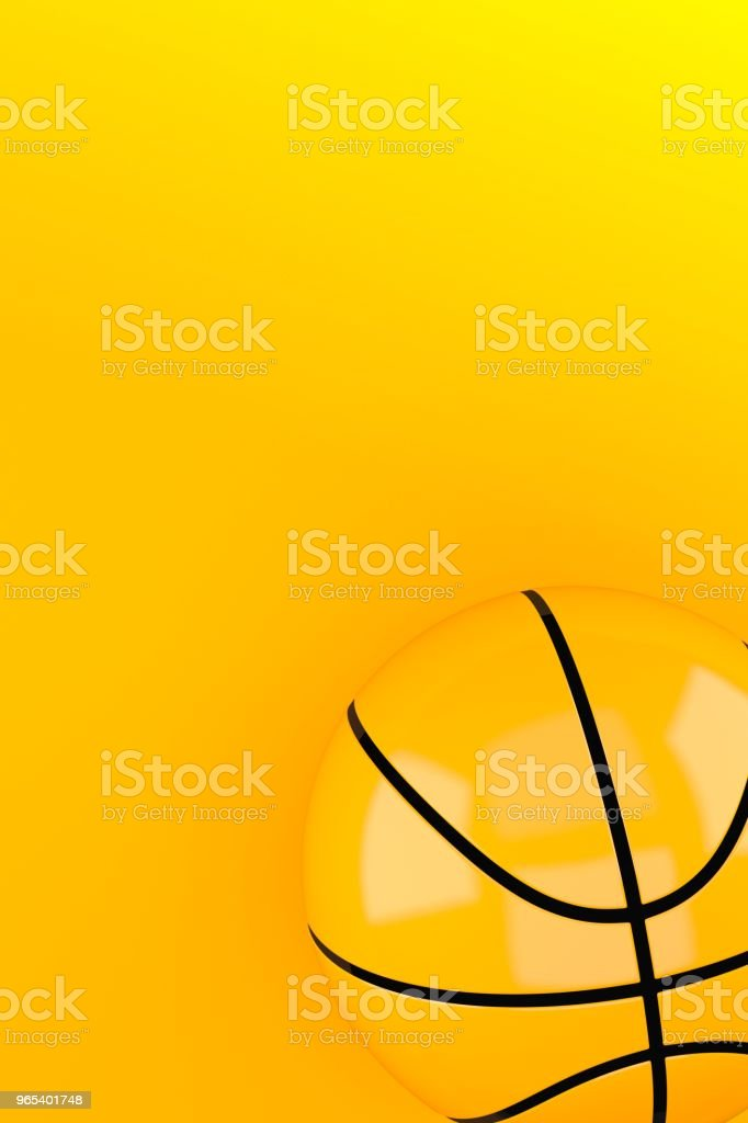 Basketball ball royalty-free stock photo