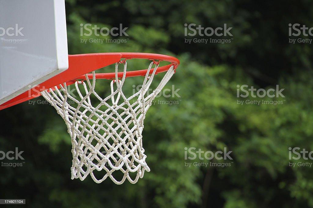 basketball basket royalty-free stock photo