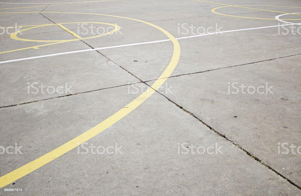 Basketball camp stock photo