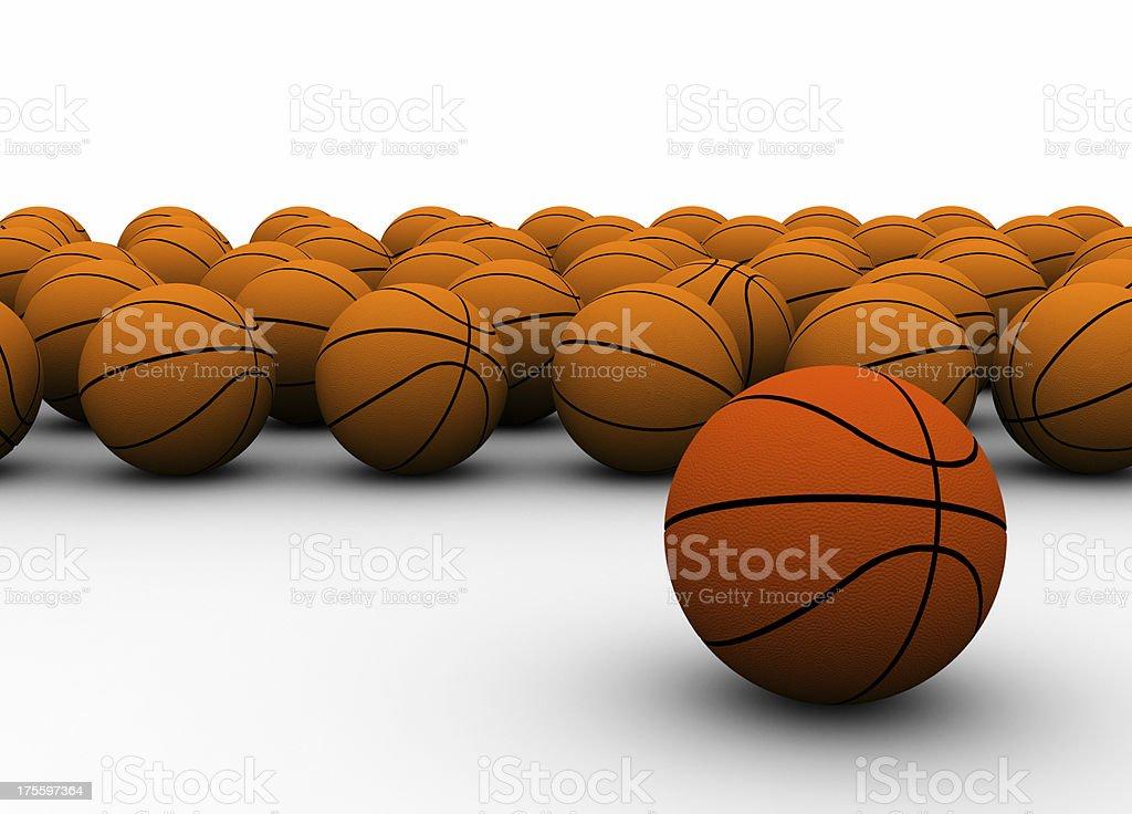 Basketball champ royalty-free stock photo