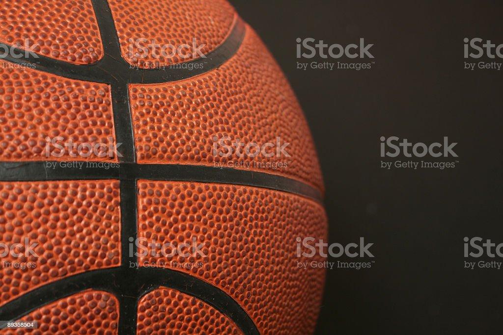 Basketball close up royalty free stockfoto