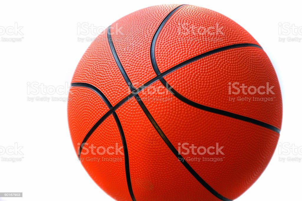 Basketball close up royalty-free stock photo