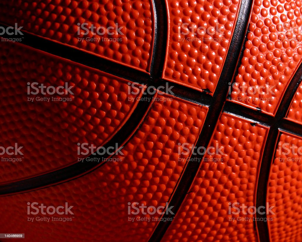Basketball Closel-up royalty-free stock photo