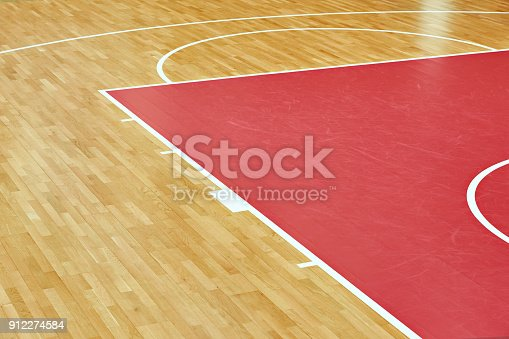 517960203 istock photo Basketball court parquet 912274584