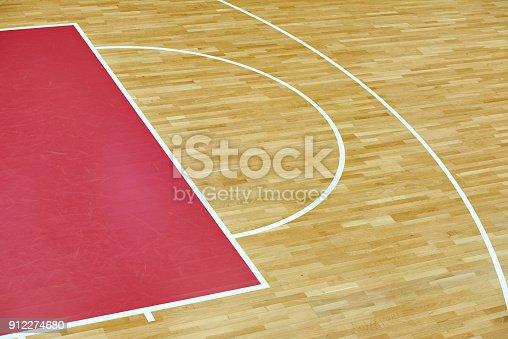 518943593istockphoto Basketball court parquet 912274680