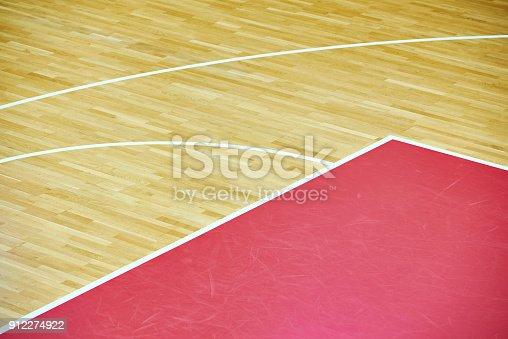 518943593istockphoto Basketball court parquet 912274922