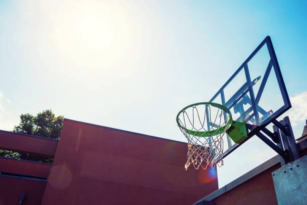 Basketballplatz – Foto