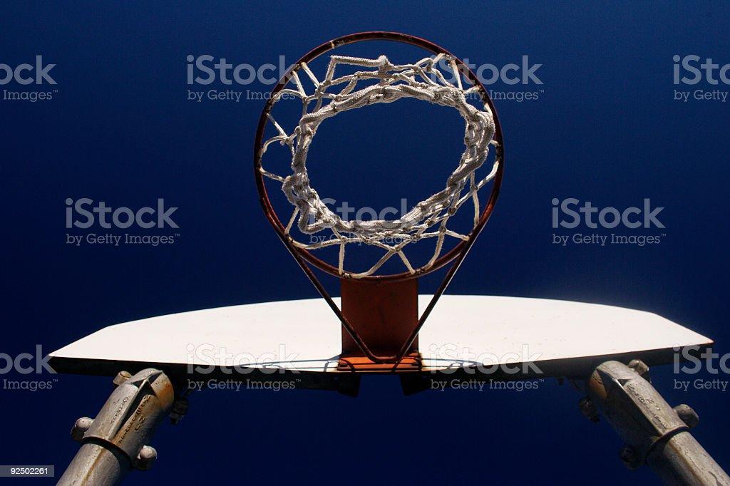 Basketball court royalty-free stock photo