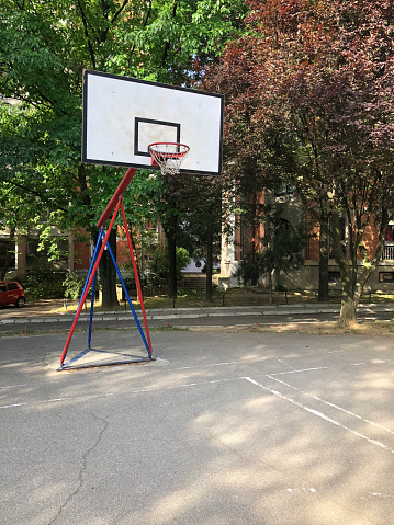 농구 코트 0명에 대한 스톡 사진 및 기타 이미지