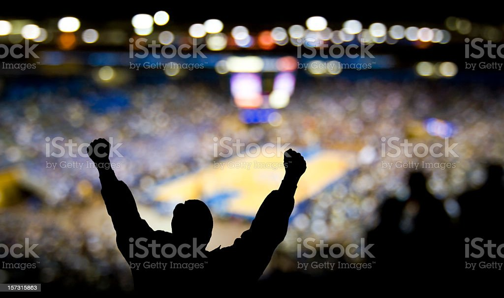 Basketball Excitement stock photo