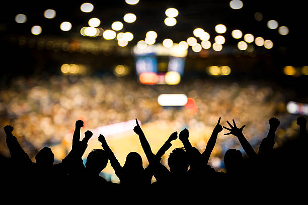 basketball excitement - fan enthusiast stock photos and pictures