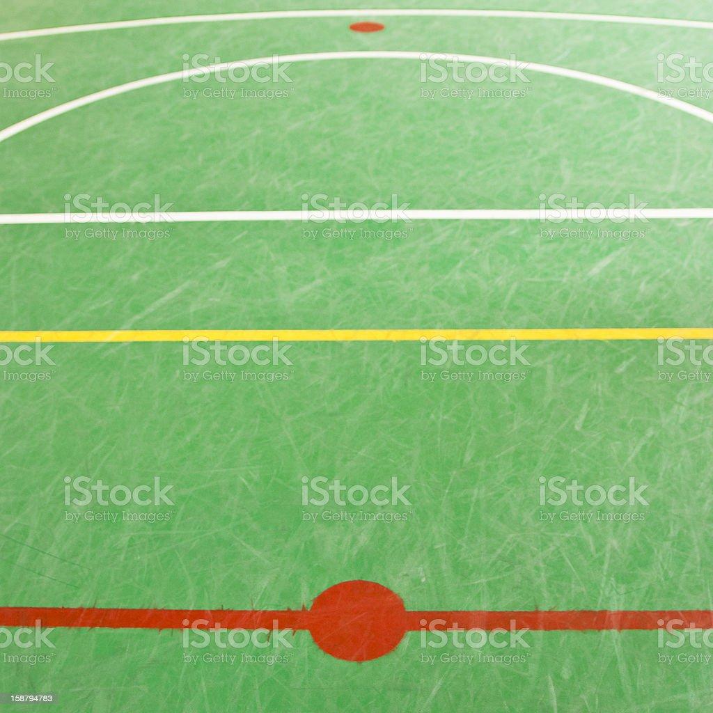 Sol Terrain De Basket photo libre de droit de terrain de basket du centre banque d