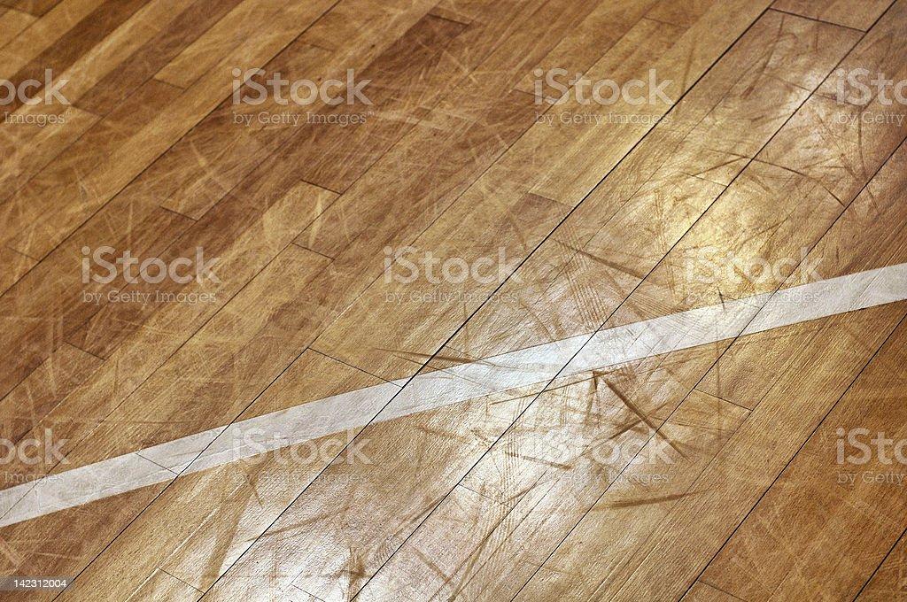 Basketball Floor stock photo