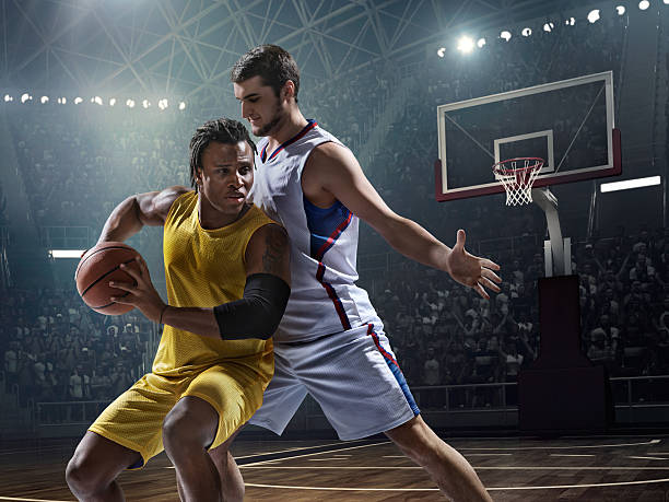 basketball game moment - sports uniform stock photos and pictures