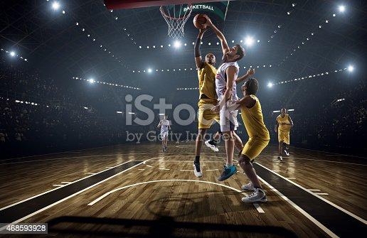 istock Basketball game 468593928