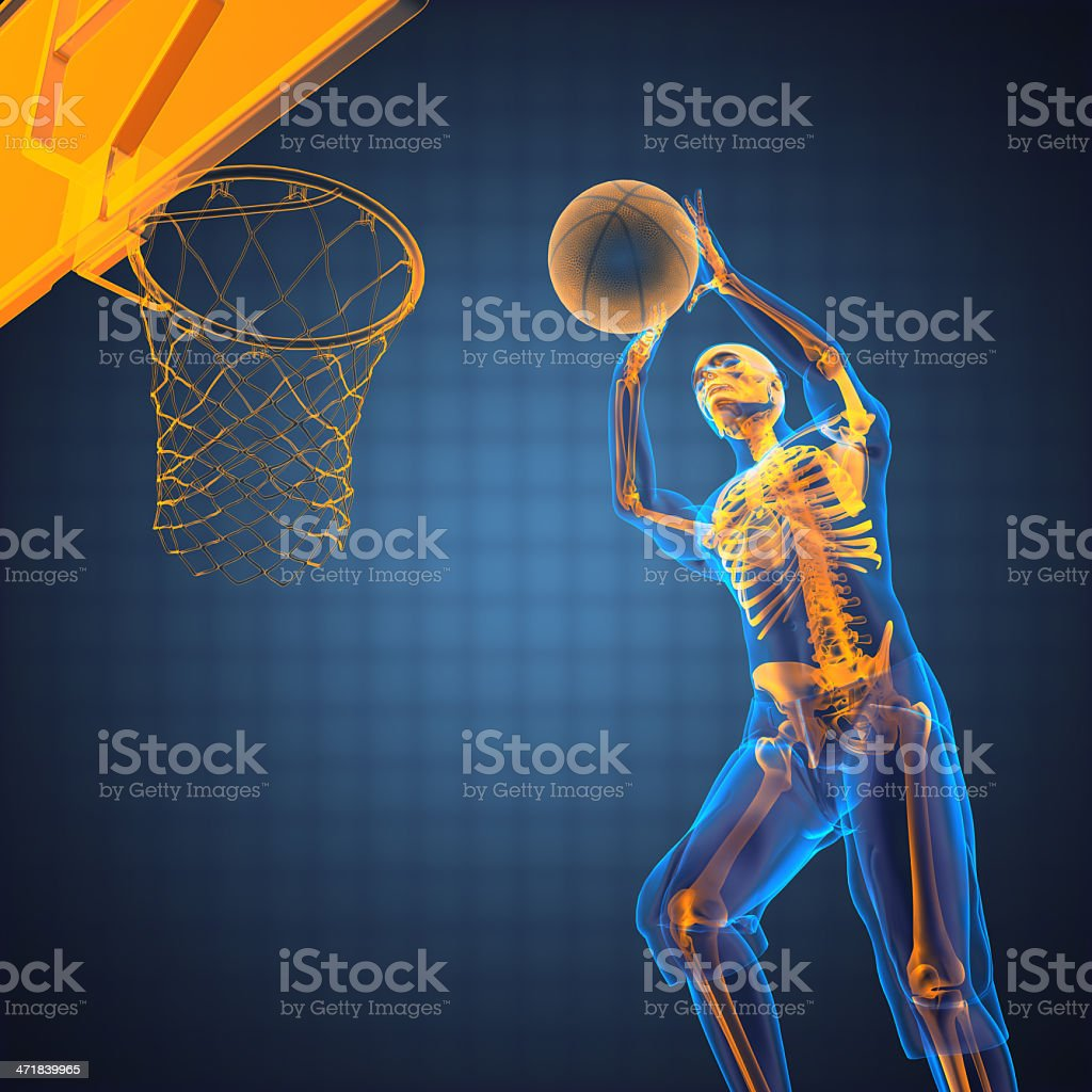 basketball game player royalty-free stock photo