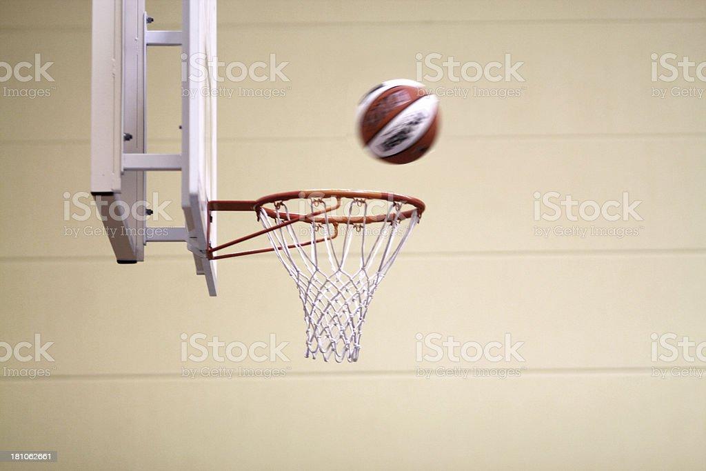 Basketball-Ziel mit ball – Foto