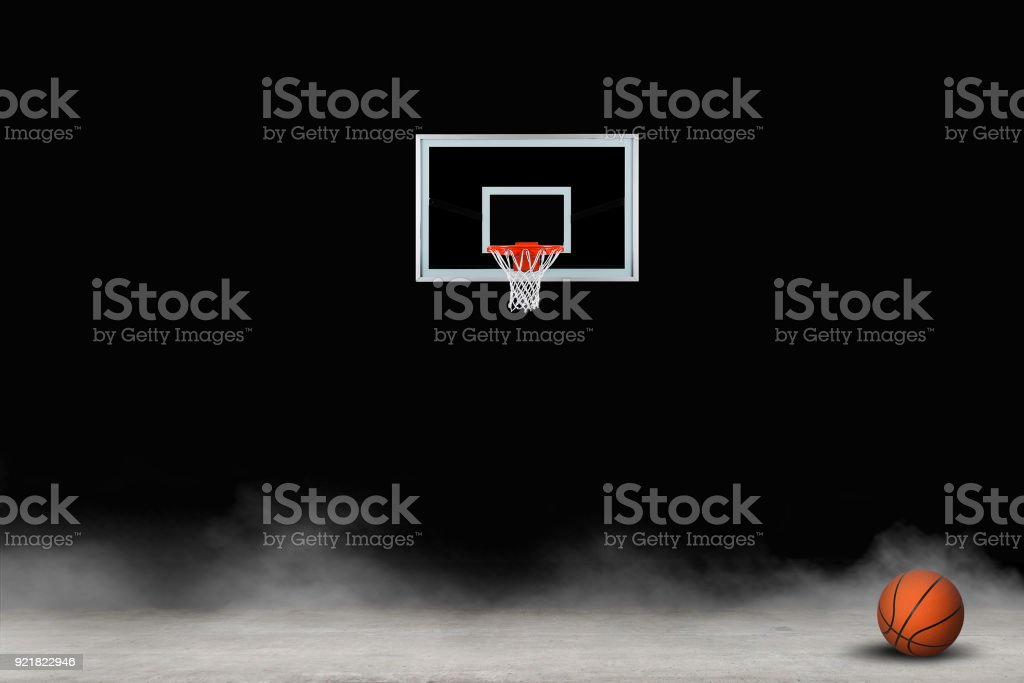 Basketball graphic image stock photo