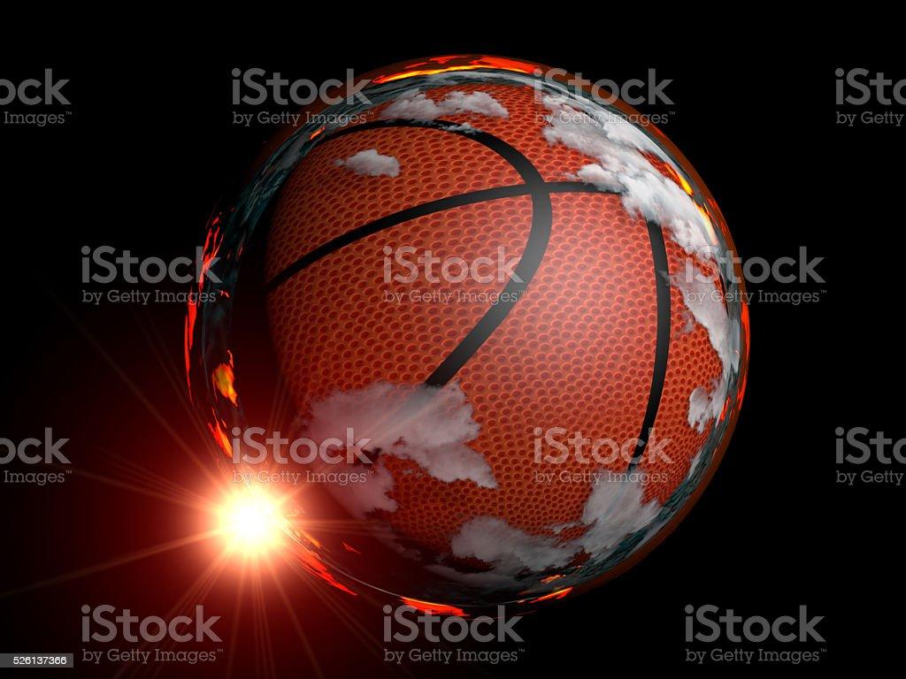 Basketball Hell stock photo