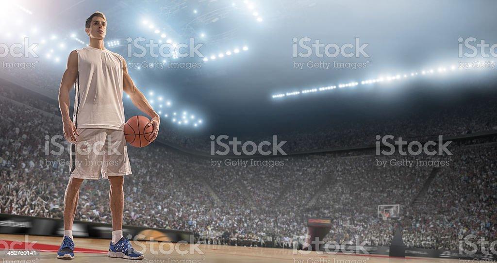 Basketball Hero royalty-free stock photo
